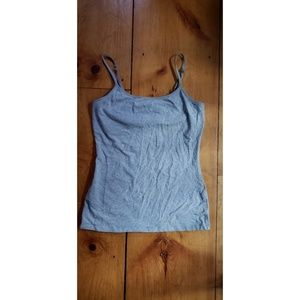 Express Tops - Gray Express Sexy Stretch Bra Cami Medium